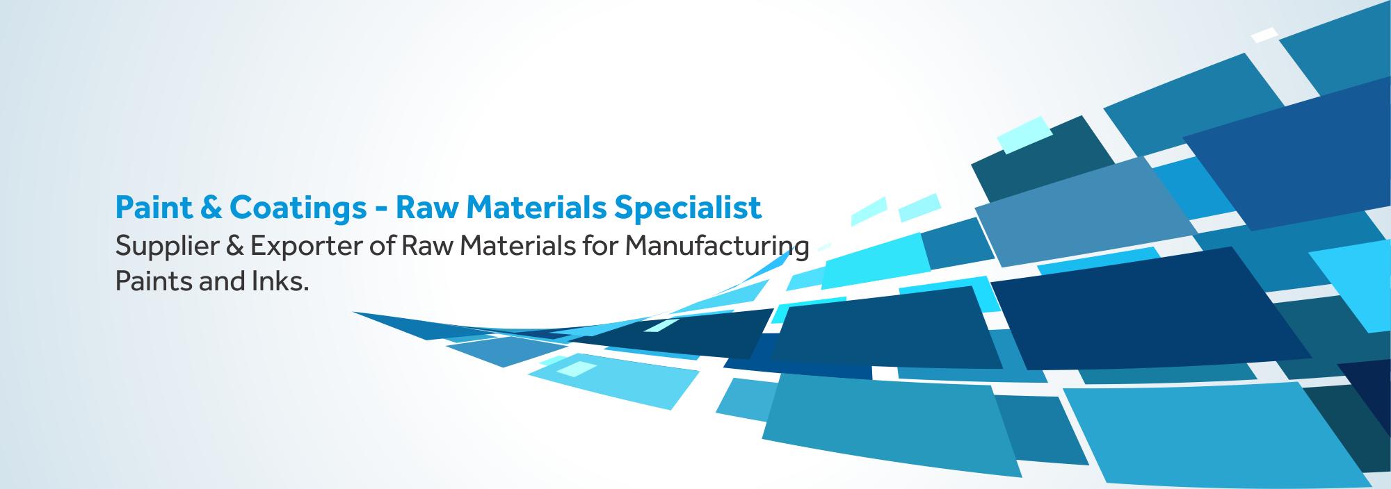 ESAAR INTERNATIONAL Coatings Raw Materials Expert